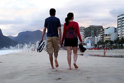 Отдых на пляжах Рио-де-Жанейро